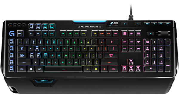 G910 Orion Spectrum RGB Mechanical Gaming Keyboard - US INTL - USB - INTNL