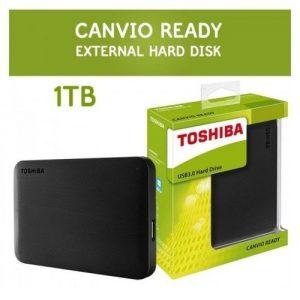 Toshiba External 1TB Canvio Ready HDD