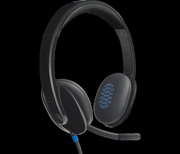 Headphones - LOGITECH USB HEADSET H540